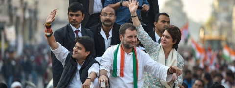 Rahul, Priyanka and Scindia to campaign in UP on April 16