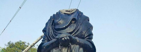 Tension prevails after Periyar's statue was vandalized in TN