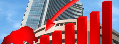 Sensex down 95.12 points in week ended April 12