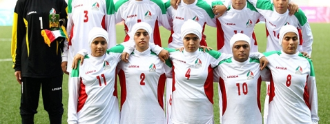 Iranian women's soccer ready to book Olympic ticket