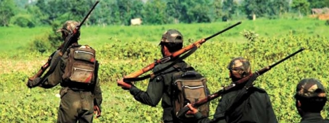 36 poll personnel walk 15 kms inside dense forest fearing Maoist attack