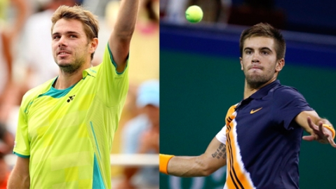 Wawrinka, Coric march into ATP Monte-Carlo Masters second round
