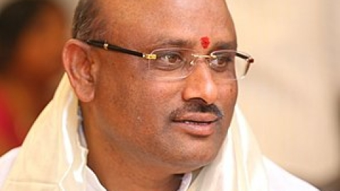 Police conduct searches in TDP MP's house, AP CM to hold protest dharna