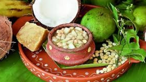 Ugadi celebrated with religious fervour, gaiety in Telangana