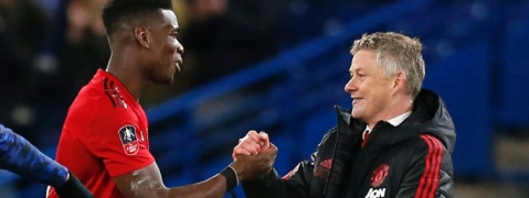 Pogba wants to stay at Man Utd, says coach Solskjaer