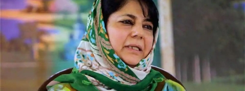 Hooliganism is acceptable if it's tinged with the colour of saffron: Mehbooba