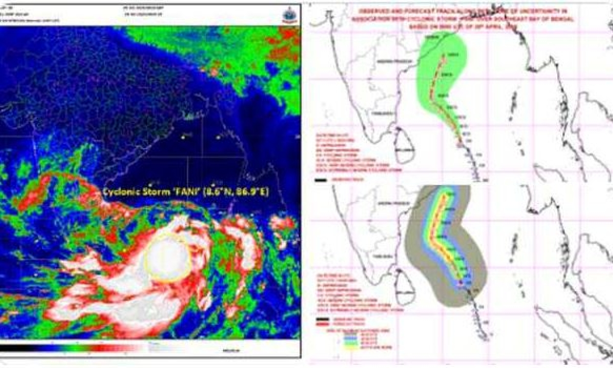 Fani to intensify into Cyclonic storm; Rain and strong wind may occur in TN