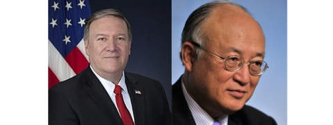 Pompeo, IAEA Chief hold talks on verification of Iran's nuclear program