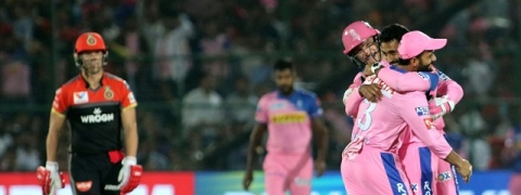 IPL: Rajasthan Royals defeat Royal Challengers Bangalore by 7 wickets