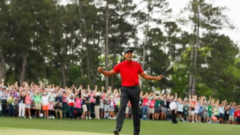 Tiger Woods wins fifth Masters title after 11 years