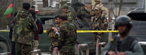 Afghanistan: 8 policemen killed in base camp attack
