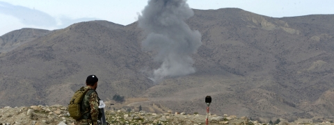 Air raids kill 5 IS fighters in eastern Afghan province