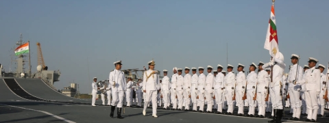 Naval Investiture Ceremony: Navy Chief confers awards in Mumbai