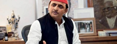 Black hole visible, but not Ache Din, says Akhilesh