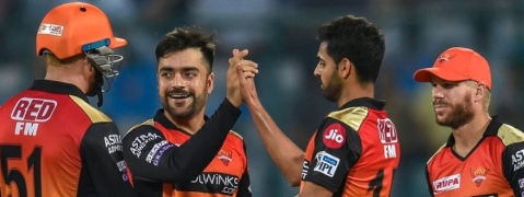 Sunrisers Hyderabad defeat Delhi Capitals by five wickets
