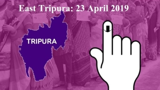 Uninterrupted 144 of CrPC, 4 police observers, 10,000 plus men in uniform for East Tripura vote