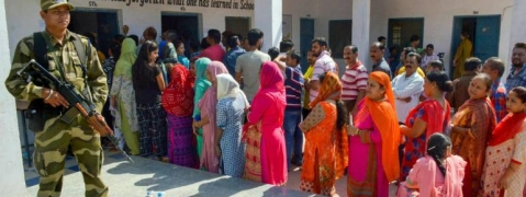 Polling begins in 4 districts for Jammu-Poonch Parliamentary Seat