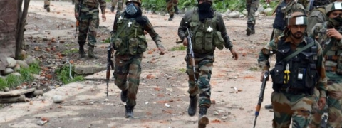 Security forces launch CASO in Shopian