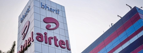 Bharti Airtel up by 2.19 pc to Rs 347.50