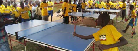 Uganda hosts Africa's first World Table Tennis Day main event
