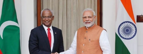 PM holds tele talks with Maldives Prez