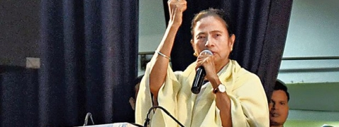 Mamata accuses BJP of spreading lies to divide people