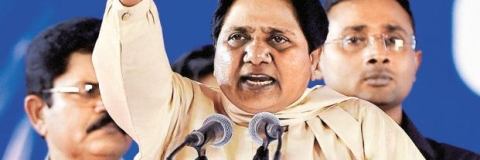 Mayawati for a larger role after LS polls