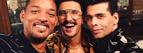 Will Smith grooves with Ranveer Singh