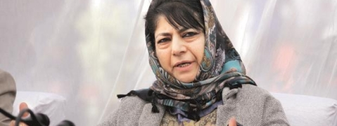 Is lynching of Muslim man NDA 2.0's New India, asks Mehbooba