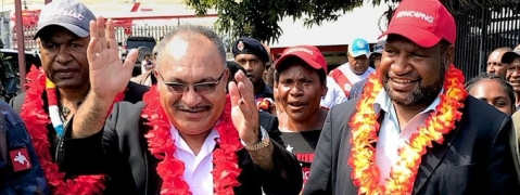 James Marape elected Prime Minister of PNG