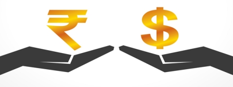 Rupee up by 4 paise against USD