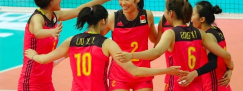 China fend off Poland for second straight win at Montreux Volley Masters