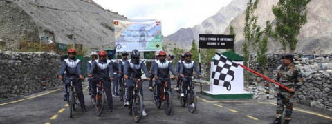 SWB cycle expedition to cover 600 km leave Siachen