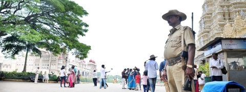 Bomb threat to Mysuru Palace turns out to be hoax