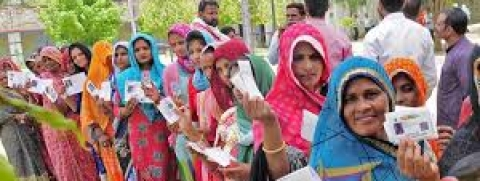 31.25 pc average voter turnout in first four hours of voting in Jharkhand