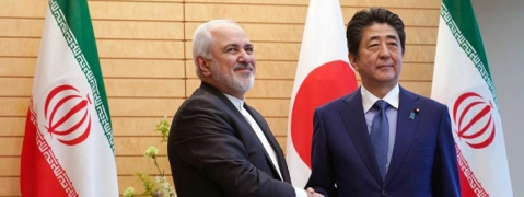 Japan PM meets Iran's Zarif, voices hope for continued implementation of JCPOA
