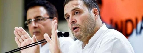 Govt departments will be corruption-free if Cong comes to power: Rahul