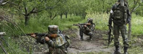 Militants-security forces encounter in Pulwama