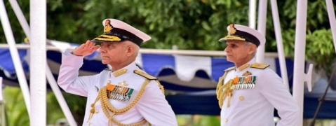 Vice Admiral Atul Kumar Jain takes over as FOC-in-C