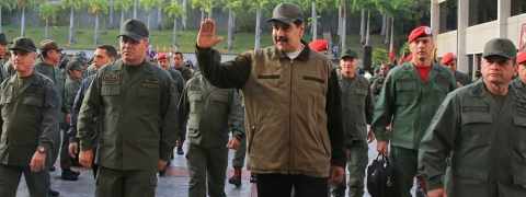 Venezuelan military is waiting for US with weapons in hands