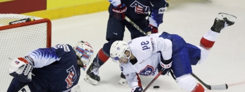 Germany edge Denmark at ice hockey worlds