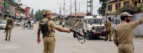 Policeman shot at by militants in Srinagar