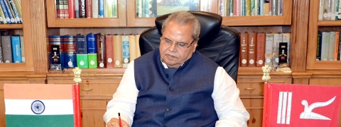 Governor briefed on sanitation arrangements for Amarnath Yatra 2019