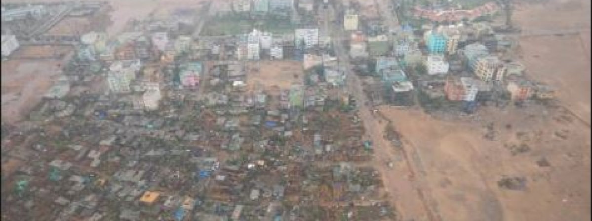 Heavy damage caused in four Odisha districts by cyclone Fani