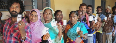 Re-polling begins in Pondy