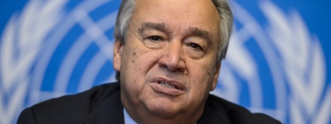 Guterres has 35000 followers on Instagram now