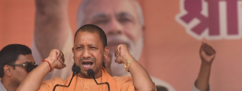 After Shah roadshow violence, Adityanath's Kolkata rally cancelled