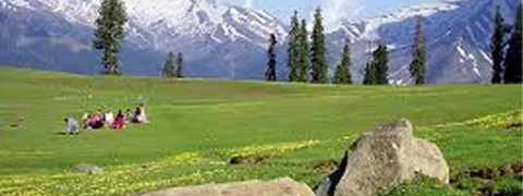 Weather turns pleasant in Kashmir