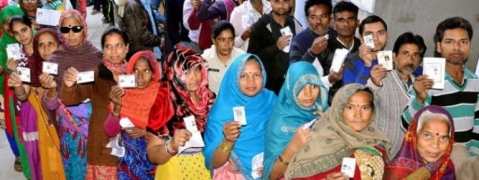 About 50 pc voting in MP until 3pm