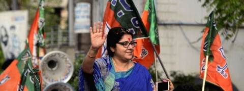 BJP's Hoogly candidate alleges false voting and inaction by EC and central forces